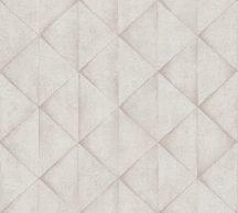 As-Creation Industrial 37742-1 Geometrikus Grafikus háromszögek 3D krém bézs szürke tapéta