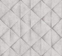 As-Creation Industrial 37742-2 Geometrikus Grafikus háromszögek 3D világosszürke szürke szürkésfehér árnyalatok tapéta