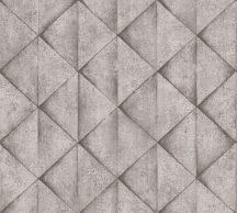 As-Creation Industrial 37742-3 Geometrikus Grafikus háromszögek 3D szürke árnyalatok tapéta