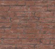 As-Creation Industrial 37747-2 Natur/Ipari stílus téglafal barna és vörösesbarna árnyalatok tapéta