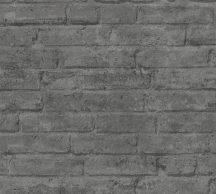 As-Creation Industrial 37747-6 Natur/Ipari stílus téglafal szürke és sötétszürke árnyalatok tapéta