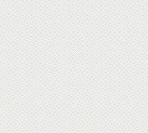 As-Creation Attractive 37759-5 Grafikus 3D minta fehér ezüst fémes hatás tapéta