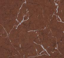 As-Creation Metropolitan Stories II, 37855-3 Natur márványminta barna fekete ezüst fényes sima mintafelület tapéta