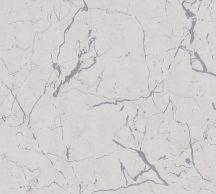 As-Creation Metropolitan Stories II, 37855-6 Natur márványminta világosszürke ezüstszürke fényes sima mintafelület tapéta