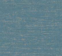 As-Creation Metropolitan Stories II, 37857-6 Natur Egyszínű strukturált melírozott kék/zöldeskék arany tapéta