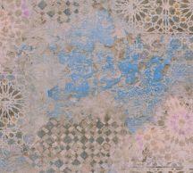 As-Creation Metropolitan Stories II, 37858-1 Etno rusztikus spanyol csempemozaik bézs kék barna tapéta