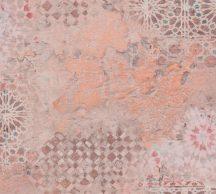 As-Creation Metropolitan Stories II, 37858-2 Etno rusztikus spanyol csempemozaik bézs barna narancs tapéta