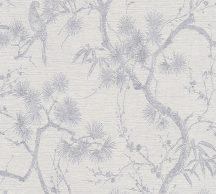 As-Creation Metropolitan Stories II, 37867-3 Natur virágzó japán cserje szürkésfehér szürke ezüst tapéta