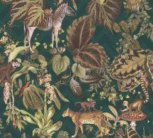 As-Creation Michalsky-Change is Good 37990-2 Natur Dzsungel Trópusi életkép Michalsky stílusában zöld barna szines tapéta