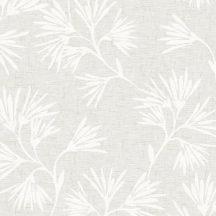 Eijffinger ENSO 386550 natur botanikus virágos fémes ezüstös ecru törtfehér tapéta