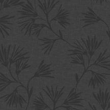 Eijffinger ENSO 386551 natur botanikus virágos fémes fekete antracit tapéta