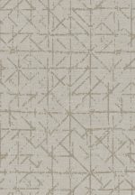 Eijffinger Topaz 394530 GRAPHIC Absztrakt grafikus világos szürke szürkésbézs rézszín fémes hatás tapéta