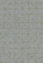 Eijffinger Topaz 394531 GRAPHIC Absztrakt grafikus mentazöld arany fémes hatás tapéta