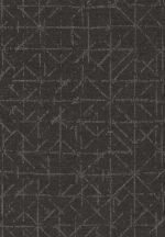 Eijffinger Topaz 394535 GRAPHIC Absztrakt grafikus sötétszürke szürkésbarna csillogó bézsarany fémes hatás tapéta