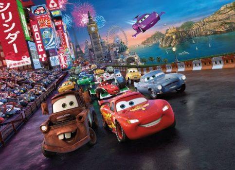 Cars Race 4-401 Disney poszter