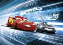 Komar 4-423 Cars3 Simulation Verdák Disney poszter