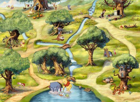 Komar The Hundred Acre Wood  4-453 Disney poszter