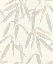 Rasch Uptown 402001 natur levélmintás krém szürke bézs tapéta
