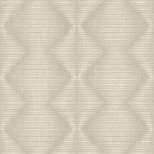 Rasch Denzo 406436 Geometrikus grafikus cikk-cakk mintázat vonalmintás alapon krém bézs szürkésbézs tapéta