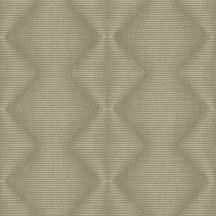 Rasch Denzo 406443 Geometrikus grafikus cikk-cakk mintázat vonalmintás alapon bézs szürkészöld tapéta