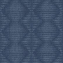 Rasch Denzo 406467 Geometrikus grafikus cikk-cakk mintázat vonalmintás alapon világos és sötétkék árnyalatok tapéta