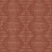 Rasch Denzo 406474 Geometrikus grafikus cikk-cakk mintázat vonalmintás alapon barnás vörös pasztel vörös tapéta