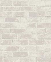 Rasch Sofia 408003 Ipari design természetes téglafal mészkőbézs szürke tapéta