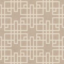 Rasch KIMONO 409246 Etno Grafikus Teaház architektúra textil strutúra bézs krémfehér vonalak tapéta