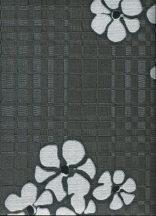 Emiliana Parati Vanity 40964 Virágos stilizált díszítőminta antracit szürke ezüst tapéta