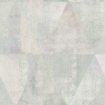 Rasch Hyde Park 410952  Vintage háromszögek szürke szürkészöld tapéta