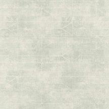 Rasch Hyde Park 412024  grafikus háromszögek vonalak szürkészöld fehér tapéta