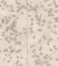 Rasch Finca 416626 Natur finom ágak - levelek bézs sötét arany enyhe fény tapéta