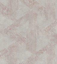 Natur mediterrán geometrikus minta szürke rosé/világos vörösréz enyhe fény tapéta
