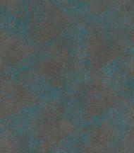 mediterrán geometrikus minta meleg szürke szürkésbarna csillogó petrolszín enyhe fény tapéta