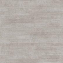 Rasch CLUB 418477 Natur Varrott csíkos angolna bőrére emlékeztető minta/struktúra világos szürke szürke árnyalatok tapéta