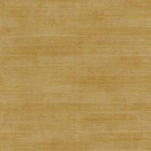 Rasch CLUB 418491 Natur Varrott csíkos angolna bőrére emlékeztető minta/struktúra erős okkersárga tapéta