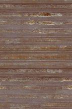 hullámos acéllemez rozsdafoltokkal arany csillogással vörös vörösesbarna rozsdaszín arany falpanel