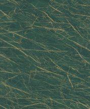 Rasch Factory IV 428940 Natur Kontrasztos természetes és dinamikus márványerezet minta sötétzöld világos arany tapéta