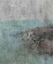 """Rasch Factory IV  429732 Ipari deign """"Elszineződött"""" beton erős kopásnyomokkal szürke kék sötétszürke barna falpanel"""