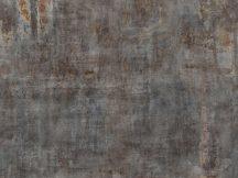 Rasch Factory IV  429749 Ipari deign Fosszilis betonminta fémes hatással szürke barna szürkésbarna rozsdabarna falpanel