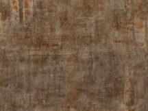 Rasch Factory IV  429756 Ipari design Fosszilis betonminta fémes hatással szürke barna terrakotta rozsdabarna falpanel
