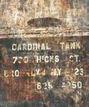 Rasch Factory IV 429794 Ipari deign Feliratos raktári doboz szürke rozsdabarna antracit krém bézs falpanel