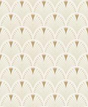 Rasch Modern Art 433227  modern grafikus díszítés krém bézs arany tapéta