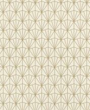 Rasch Modern Art 434019 grafikus minta háromszögek rombuszok krém arany tapéta