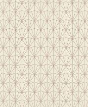 Rasch Modern Art 434040  grafikus minta háromszögek rombuszok krém bézs rózsaszín tapéta