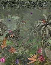 Marburg Smart Art Easy 47201 Natur Botanikus trópusi dzsungel életkép zöld szines falpanel