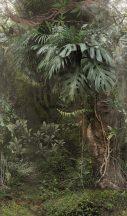 Marburg Smart Art Easy 47208 Natur Botanikus Dzsungel trópusi növények zöld árnyalatok barna falpanel