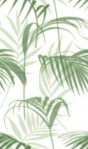 Marburg Smart Art Easy 47209 Natur Botanikus filigrán trópusi levelek fehér zöld árnyalatok falpanel