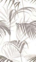 Marburg Smart Art Easy 47210 Natur Botanikus filigrán trópusi levelek krémfehér szürke bézs falpanel