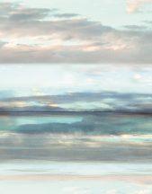 Marburg Smart Art Easy 47223 Natur Hipnotikus hatású tenger felhős horizonttal kék árnyalatok fehér szines falpanel
